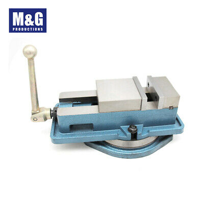 """Precision Milling Machine Vice 6"""" with swing base"""