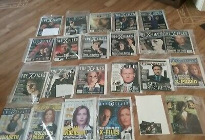 xfiles x-files collection job lot, US/Canada issues magazines