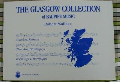 The Glasgow Collection Book of  Highland Bagpipe Music Tunes pipes