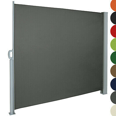 Garden Side Awning Sunshade Retractable Windscreen Size and Color Choice