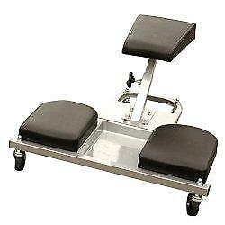 Knee Saver Work Seat Creeper with Tool Tray