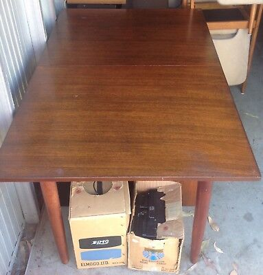 Dining Extension Table Vintage Made In 1969 **free Del Syd Metro**