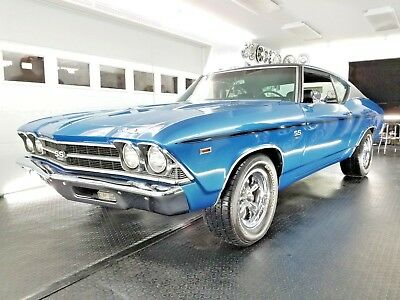 1969 Chevrolet Chevelle SS396 - 396 Cu In - 4 Speed Manual ***Videos*** Very Nice!  1969 Chevelle SS396  - 396 Cu In - 4 Speed - A/C **Videos**