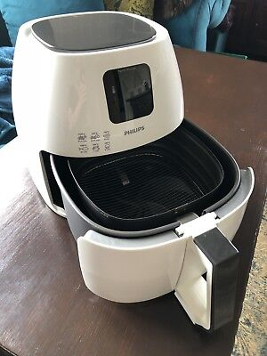 PHILIPS Avance Collection Airfryer XL HD9240/30 Fritteuse 2100 Watt weiß