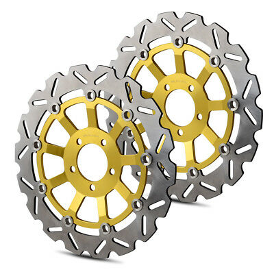 310mm Pair Front Brake Disc Rotor for Yamaha ZXR 400 750 ZRX 1100 1200 R S ZX9R