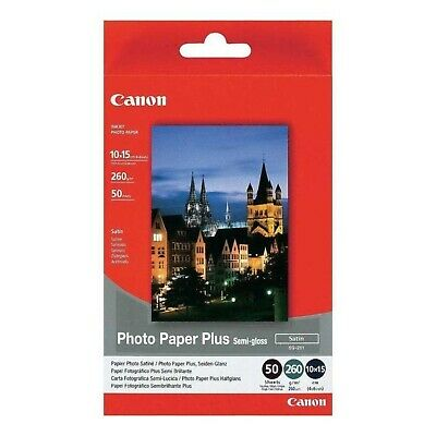 Original Canon SG-201 10cmx15cm Photo Paper Plus Semi Glossy 260gsm 50 Sheets (1