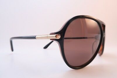 Vintage Tom Ford sunglasses Mod Leopold TF197 Size 60-12 135 Italy etched lens