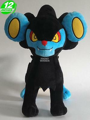 Big 12 inches Pokemon Luxray Plush Stuffed Doll Soft PNPL1223