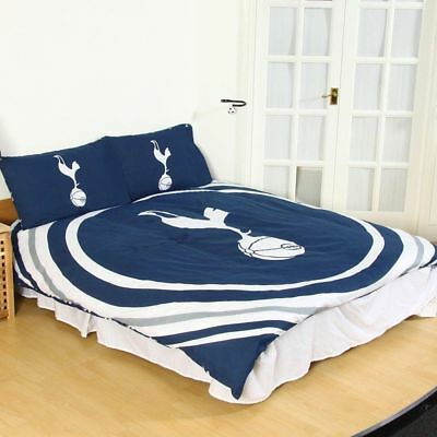 Tottenham Hotspur FC Pulse Double Duvet Cover and Pillowcase Set