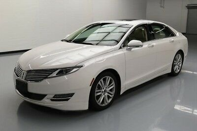Lincoln MKZ/Zephyr  Texas Direct Auto 2015 Used 3.7L V6 24V Automatic FWD Sedan Moonroof Premium