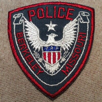 MO Berkeley Missouri Police Patch (3.25In)