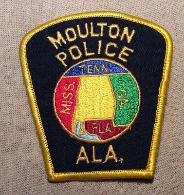 AL Moulton Alabama Police Patch