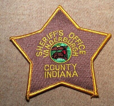 IN Vanderburgh County Indiana Sheriff Patch