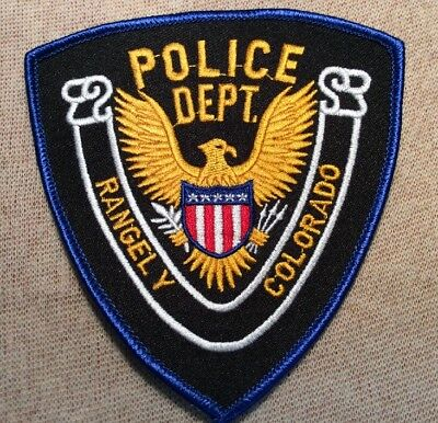 CO Rangely Colorado Police Patch