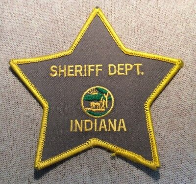 IN Indiana Sheriff Patch