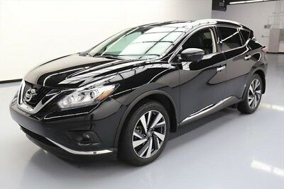 Nissan Murano Platinum 4dr SUV Texas Direct Auto 2017 Platinum 4dr SUV Used 3.5L V6 24V Automatic FWD SUV Bose