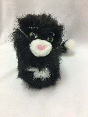 """American Girl Licorice Black Kitty Cat 5"""" Plush Pet Doll Retired Moveable Tail"""