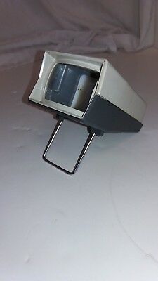 Rare Vintage Mico Tele-Vue Viewer For 35 Mm,super Slide Viewer Made In Chicago.