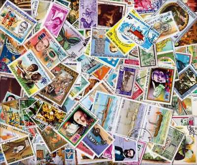 Africa Stamps - Sensational Collection of 500 Different Stamps