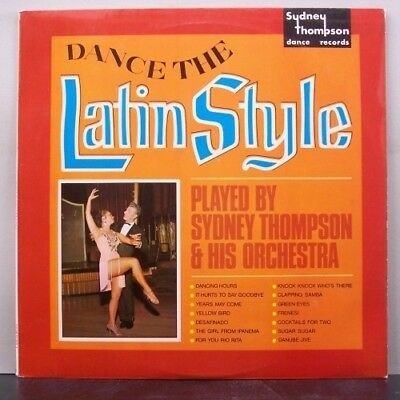 (o) Sydney Thompson - Dance The Latin Style