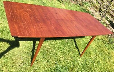 Vintage Mcintosh Large Dining Table Teak Extender Superb Design Kirkcaldy Scot