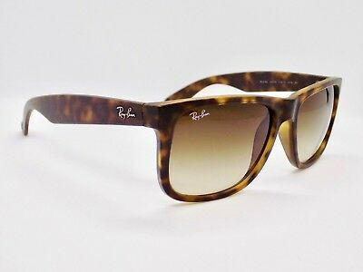 Ray Ban Justin Wayfarer Gradient RB4165 710/13 54mm Sunglasses & Case