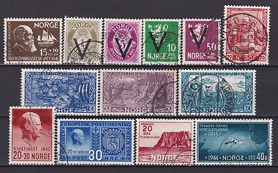 Norway - stamps from WW2
