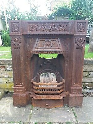 Cast Iron Fireplace Fire Surround.
