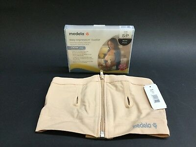 Medela Easy Expression Bustier - Nude, Small (Model 67940) *Brand New*