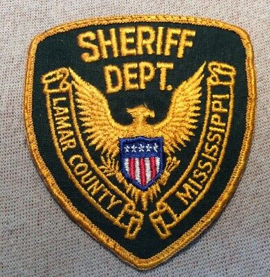 MS Lamar County Mississippi Sheriff Patch