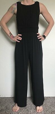 c6a8fafcaf19 SAKS FIFTH AVENUE Black Romper Jumpsuit size S Small -  22.49