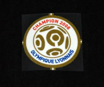 Official French Ligue 1 Champions 2008 For Football Shirt Patch/Badge Lyon