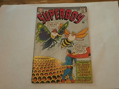 *AR* DC Superboy #127 March 1966 The Seven Insect Lives of Lana Lang! Bee Boy!