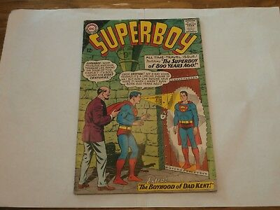 *AR* DC Silver Age Superboy #113 June 1964 Time-Travel Issue! Lana Lang!