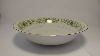 """Towne House Green Dale 3077 9 3/8"""" Round Vegetable Serving Bowl"""