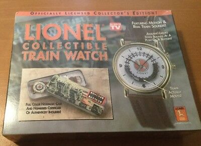 Lionel Collectible Train Watch Never Out Of Original Box , Real Train Sounds