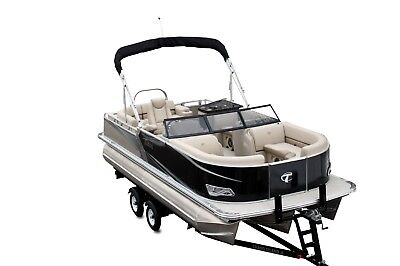 New  22 Ft Tahoe LTZ Tritoon with 150 and trailer