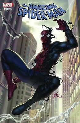 Amazing Spiderman 800 In-Hyuk Lee Black Costume Variant Inhyuk Nm Pre-Sale 5/30