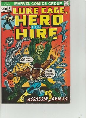 Hero for Hire #6 (Feb 1973, Marvel) NICE GRADE EARLY ISSUE BRONZE AGE