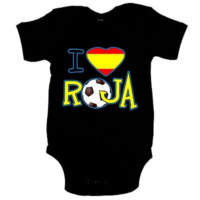 Body bebé I Love La Roja