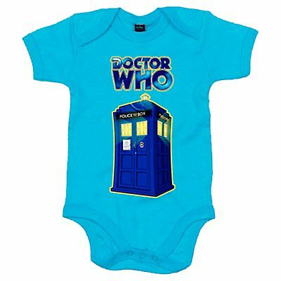 Body bebé Doctor Who Tardis