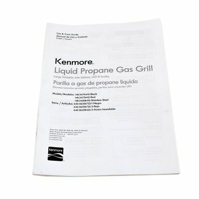 Kenmore  OM-34176410 Owner's Manual for KENMORE,KING