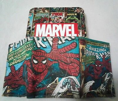 Marvel Comics Leather Trifold Wallet & Tin, Amazing Spider-Man Vol.1,1st Edition