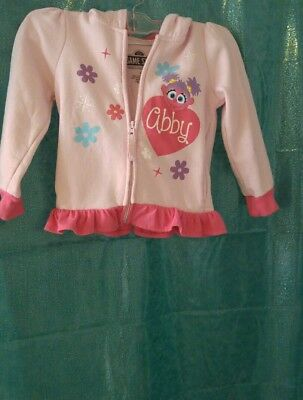 Sesame Street Little Girls Toddler Abby Cadabby Costume Hoodie with 3D 4t