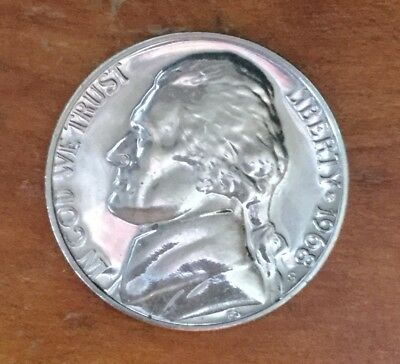 1971 S US Nickel Proof Mint Coin 5 Cents Jefferson Collectable Coin