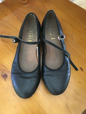 Bloch Black Tap Shoes Size 61/2