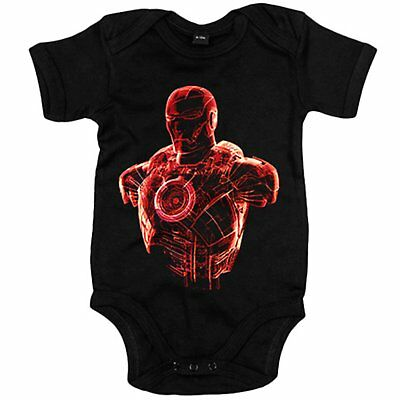 Body Bebé Iron Man holograma