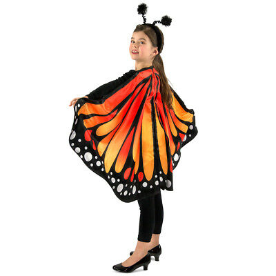 Kids Monarch the Butterfly Costume Cape Accessory