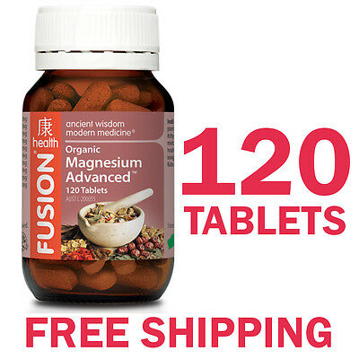Fusion Health Magnesium Advanced 120 Tablets - Fusion Magnesium