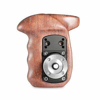 SmallRig Wooden Handle Grip with ARRI Style RosetteRight Side for Camera Cages